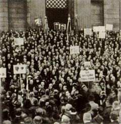 Trianon tüntetés